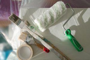 outils de rénovation peinture