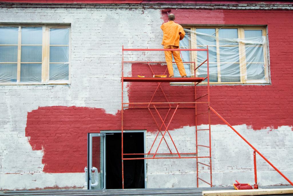 Peinture extérieure maison